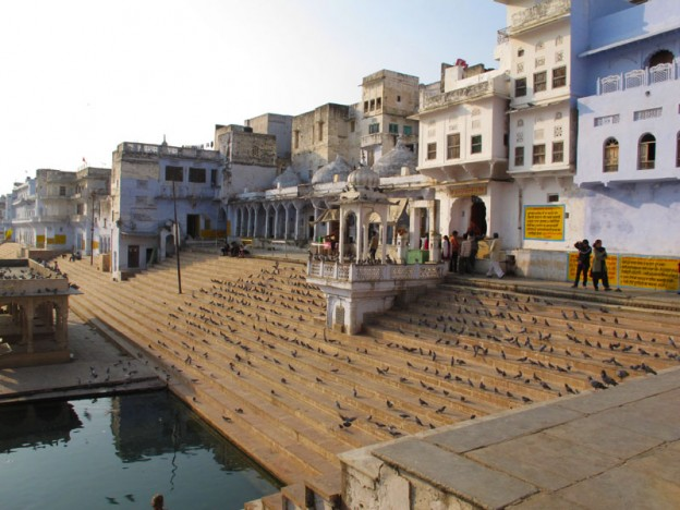 Pushkar Lake Ghat in Pushkar, India